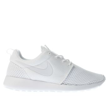 Nike White Roshe One Se Mens Trainers