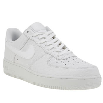 Mens Nike White Air Force 1 07 Lv8 Trainers