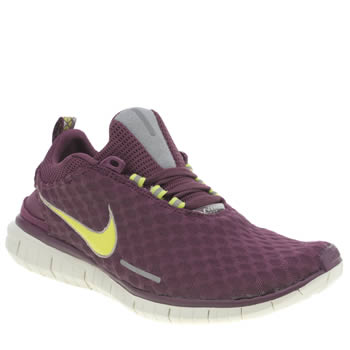 Mens Nike Burgundy Free Og 14 Trainers