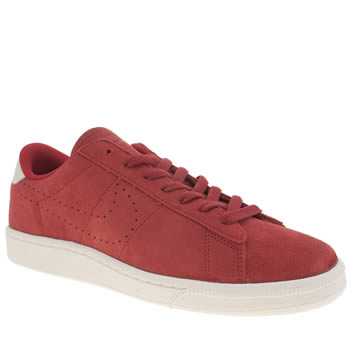 Nike Red Tennis Classic Suede Cs Trainers