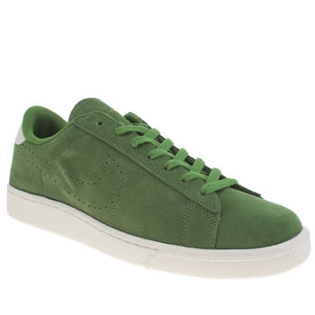 Nike Green Tennis Classic Suede Cs Trainers