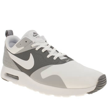 Mens Nike White & grey Air Max Tavas Trainers