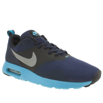 Mens Nike Navy Air Max Tavas Trainers