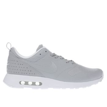 NIKE GREY AIR MAX TAVAS TRAINERS
