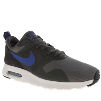 Mens Nike Dark Grey Air Max Tavas Trainers