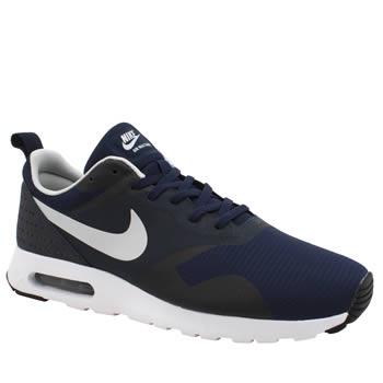 Mens Nike Navy & Grey Air Max Tavas Trainers
