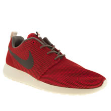 Red Nike Roshe Run