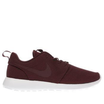 Nike Burgundy Roshe One Mens Trainers