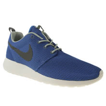 Blue Nike Roshe Run