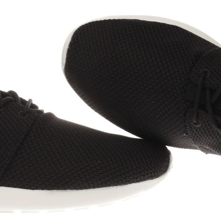 fyxjh Mens Black & Grey Nike Roshe One Trainers | schuh