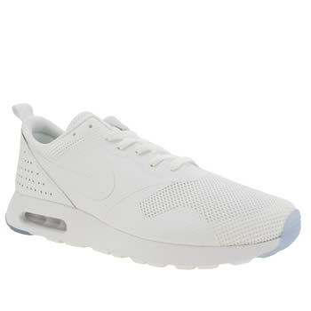 Mens Nike White Air Max Tavas Trainers