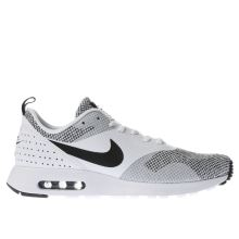 Nike White & Black Air Max Tavas Premium Mens Trainers