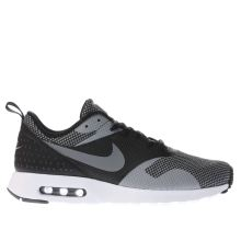 Nike Black & Grey Air Max Tavas Premium Mens Trainers