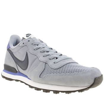 Mens Nike Pale Blue Internationalist Trainers