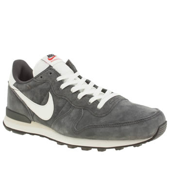 Nike Dark Grey Internationalist Trainers