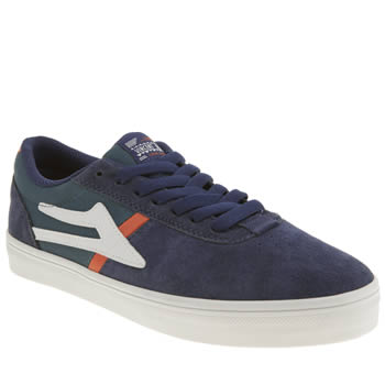 Mens Lakai Navy Vincent Trainers