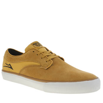 Mens Lakai Yellow Riley Hawk Trainers