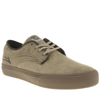 Mens Lakai Tan Riley Hawk Trainers