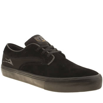 Mens Lakai Black Riley Hawk Trainers
