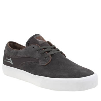 Lakai Grey Riley Hawk Trainers