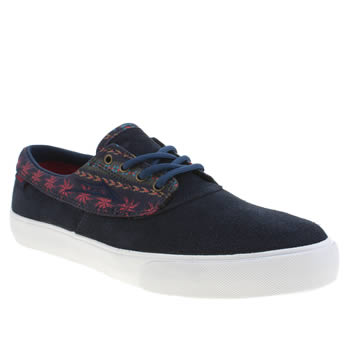Mens Lakai Navy Camby Trainers