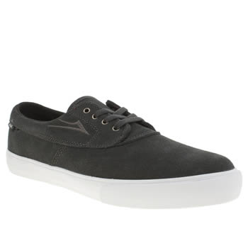 mens lakai dark grey camby trainers