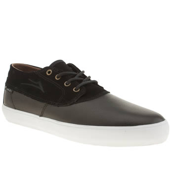 mens lakai black camby mid trainers