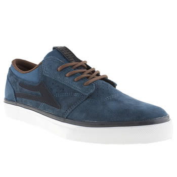 mens lakai blue griffin trainers