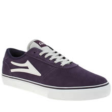 Lakai Purple Manchester Mens Trainers