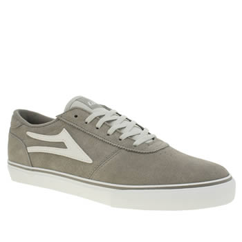 Lakai Light Grey Manchester Trainers