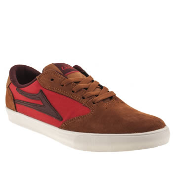 mens lakai tan pico trainers