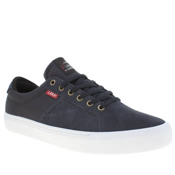 Lakai Navy Flaco Mens Trainers