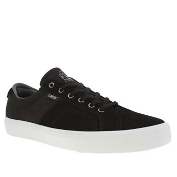 Lakai Black & Grey Flaco Trainers