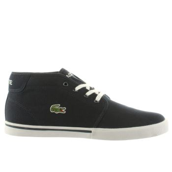 Mens Lacoste Navy & White Ampthill Lcr2 Trainers