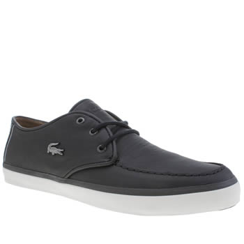 Mens Lacoste Black Sevrin Lcr Trainers