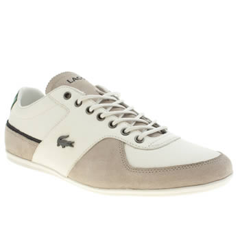 Mens Lacoste White Taloire Trainers