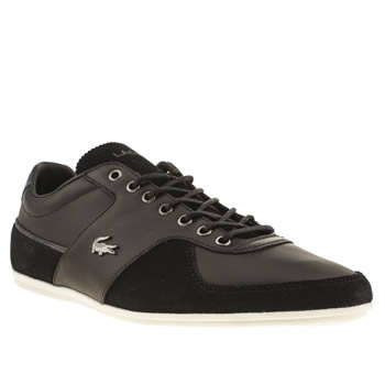 Mens Lacoste Black Taloire Trainers