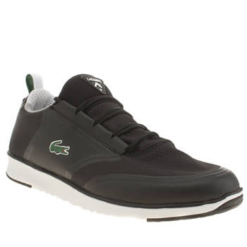 Mens Lacoste Black L.ight Lt12 Trainers