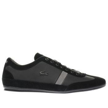 Mens Lacoste Black Misano 22 Trainers