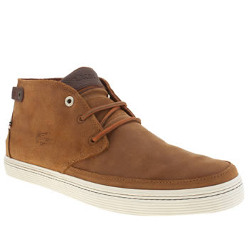 Lacoste Brown Clavel 18 Trainers