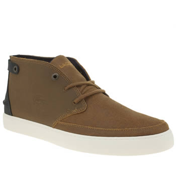 LACOSTE TAN CLAVEL 316 TRAINERS
