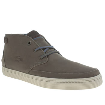 Mens Lacoste Grey Clavel 18 Trainers