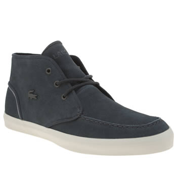 Lacoste Navy Sevrin Mid 316 Mens Trainers