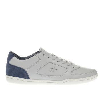 Lacoste Light Grey Court Minimal 316 Trainers