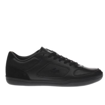 Lacoste Black Court Minimal Mens Trainers