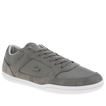 Lacoste Dark Grey Court Minimal 316 Trainers