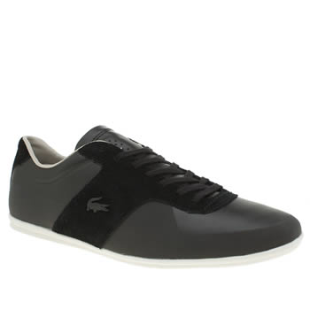 Lacoste Black Turnier 316 Mens Trainers