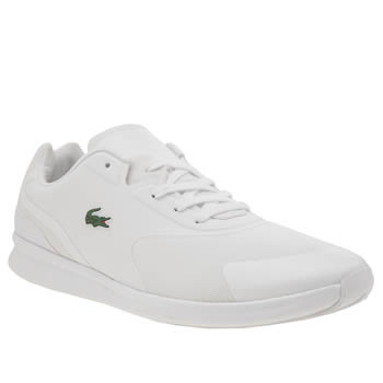 Lacoste White Ltr-01 Mens Trainers