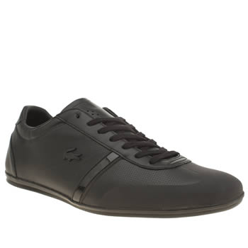 Mens Lacoste Black Mokara Trainers