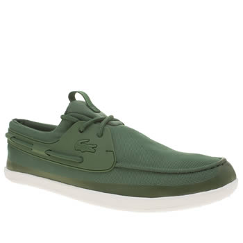 Lacoste Green Landsailing Trainers